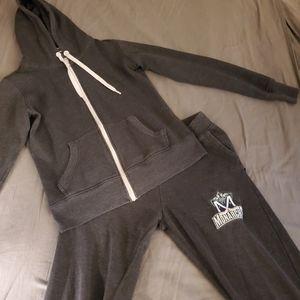 Free Spirit and Monarch , Sweatpants & Jacket Set